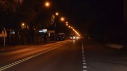 Luminarias sobre la Ruta 9