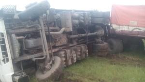 vuelco camion